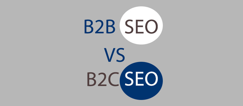 The difference between B2B SEO and B2C SEO